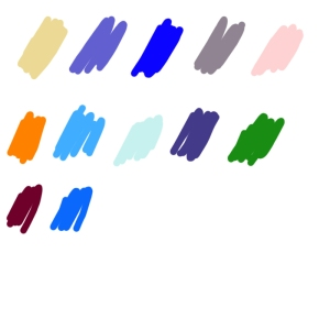 Character color Palette